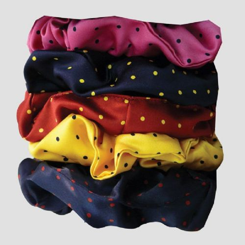 Equetech Polka Dot Hair Scrunchie (Small)
